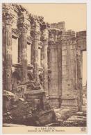 CPA  LIBAN  BAALBECK Intérieur Du Temple De Bacchus N°6 - Liban