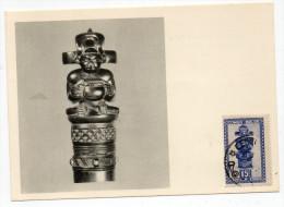 1952 - CONGO BELGE - CARTE MAXIMUM - 1947-60: Covers