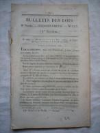 Bulletin Des Lois N°147  1832 Relatif Au Corps Des Sapeurs Pompiers De Paris + Monnaies 14 Pages - Wetten & Decreten