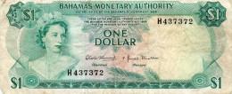 BAHAMAS : 1 $ 1968 (vf) - Bahamas