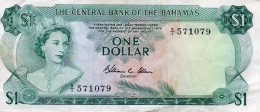BAHAMAS : 1 $ 1974 (vf) - Bahamas
