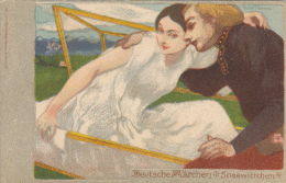 Illustrateur VICTOR THOMAS  - Deutsche Märchen Sneewittchen - Other Illustrators