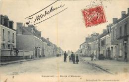 BEAUMONT SUR SARTHE ROUTE D'ALENCON - Beaumont Sur Sarthe