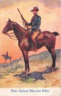 ¤¤  -  NEW ZEALAND  -  Mounted Rifles  -  Cavaliers  -  Illustrateur    -  ¤¤ - Nuova Zelanda