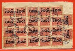 POLOGNE LETTRE DE 1924 DE ZAWIERCIE POUR BEAULIEU FRANCE - Machine Stamps (ATM)