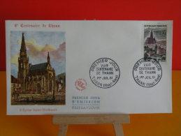 FDC - Ville Centenaire De Thann - Thann 1.7.1961 - 1er Jour - - 1960-1969