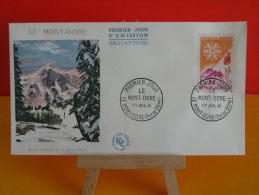 FDC - Le Mont Dore, Sport D´hiver - Le Mont Dore 1.7.1961 - 1er Jour - - 1960-1969