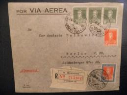 Argentine Lettre Recommande  De Buenos Aires 1936 Pour Berlin - Argentina