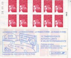 3419-C9 Daté 28.05.03 - Carnets