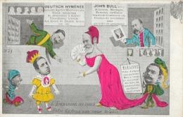 Illustration P. D´Y - L´Embarras Du Choix, Enter Les 3 Son Coeur Balance: Marianne, John Bull, Deutsch Hyménée - Satiriques