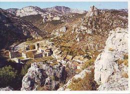 St Guilhem Le Désert   H163         Dans Les Gorges Du Verdon, Le Village Et L'abbatiale Sous Le Château De Don Juan - Francia