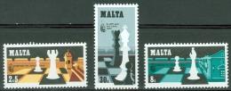 Malta 1980 Chess Olympiad MNH** - Lot. 3320 - Malte