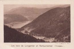 IMAGE - CHROMO - QUINTONINE - Les Lacs De Longemer Et Retournemer - Chromos