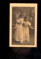Petites Filles Fillettes Corde à Sauter Young Girls   ( Publicité Biscuits Vignals Lyon ) - Portraits