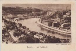IMAGE - CHROMO - QUINTONINE - LYON - La Saone - Chromos