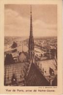 IMAGE - CHROMO - QUINTONINE - Vue De Paris, Prise De Notre-Dame - Trade Cards