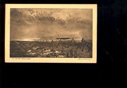 Peinture Tableau : Le Rève Detaille Scène De Guerre Musée Du Luxembourg  ( Publicité Biscuits Vignals Lyon ) - Paintings