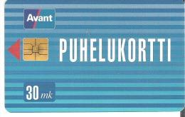 Finland - Avant - PUHELUKORTTI