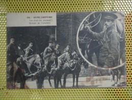 CPA GUERRE EUROPÉENNE 1914 NOS AMIS LES ANGLAIS GROUPE DE CAVALIERS - Guerre 1914-18