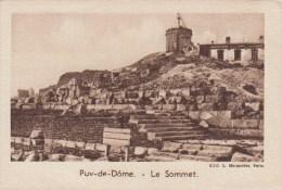 IMAGE - CHROMO - QUINTONINE - Puy De Dome - Sommet - Trade Cards
