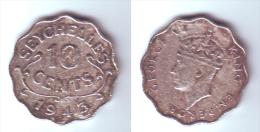Seychelles 10 Cents 1943 - Seychelles