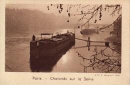 IMAGE - CHROMO - QUINTONINE - PARIS - Chalands Sur La Seine - Trade Cards