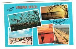 Etats Unis - Virginia Beach - Greetings From - Virginia Beach