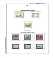 Suplemento Filkasol V CENT. DESCUBRIMIENTO 1492-1992 (MONTADO HAWID) - Álbumes & Encuadernaciones