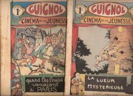 5 GUIGNOLS CINEMA DE LA JEUNESSE N° 22 21 37 16 21 DU 31.05.1936 24.05.1936 13.09.1936 22.04.1934 27.05.1934 - Non Classés