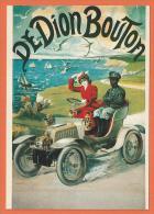 NOV231, Automobiles DEDION Bouton, F. Nugeron ,Repro D'affiche, Circulée 1981 - Advertising