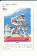 1 Carte De Jeu /  Sport Judo  // IM 59/2 - Vecchi Documenti