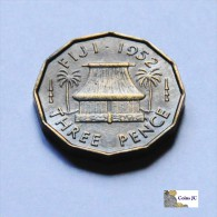 Fiji - 3 Pence - 1952 - Fiji