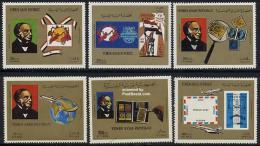 YEMEN 1981 Sir Rowland Hill Commemoration MNH plus 2 blocs plus complete mint set