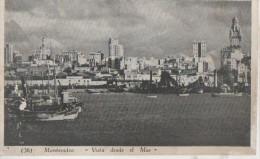 MONTEVIDEO ( Vista Desle El Mar ) - Uruguay