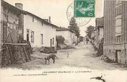 Nov14 498: Louvemont  -  Grande Rue - France