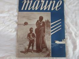 MARINE MENSUEL BELGE PARAISSANT EN GRANDE BRETAGNE - Magazines & Papers