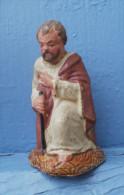 JOSEPH, Ancien Santon Crèche De NOEL, - Santons, Provenzalische