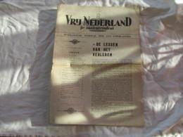 VRIJ NEDERLAND JE MAINTIENDRAI DU 23 NOVEMBRE 1940 - Olandesi