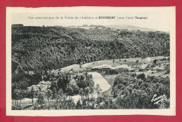 STOUMONT  -  Vue Panoramique De La Vallée De L'Amblève (vers L'aval Targnon) - Stoumont