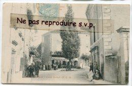 - BOURDEAUX - Drôme - Place De La Récluse, Belle Animation, Plus D'arbre Au Milieu Maintenant, En 1905, TBE, Scans.. - Frankreich