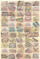 _4Zw625: Restje : 55 Spoorwegzegels: Diverse :  ...om Verder Uit Te Zoeken... - 1895-1913