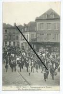 CPA- Mouy - Couronnement De La Rosière,Melle Georgina Brillard (1905) - Mouy