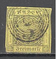Bade:  Yvert N° 2°;Beau;  Used; Cote 20.00€; Voir Le Scan - Bade