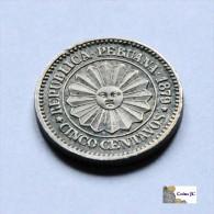 Perú - 5 Centavos - 1879 - Perú