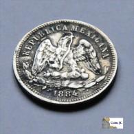 México - 25 Centavos - 1884 - Mexiko