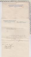 Lettera + Busta Orfanotrofio Israelitico Italiano Giuseppe E Violante Pitigliani - Documents Historiques