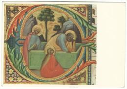 "1966, Corale (miniatura) - ""Le Marie E Pietro Al Sepolcro""    Firenze - Biblioteca Nazionale - Firenze (Florence)"