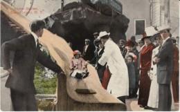 Coney Island New York, Helter-Skelter Ride Amusement Park, C1900s Vintage Postcard - Brooklyn