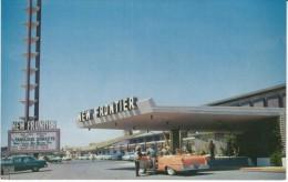 Las Vegas Nevada, New Frontier Hotel, Auto, c1950s Vintage Postcard