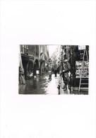 Cpm Paris 1900 Innondations 1910 Rue De Bievre - Arrondissement: 05